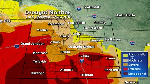 drought monitor Latest Forecast: Severe Storm Threat Continues