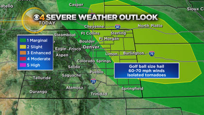 Latest Forecast: Severe Storm Threat Continues