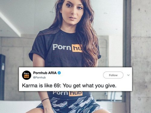 pornhubs witty tweets are riding on top 30 photos 7 Pornhubs raunchy tweets are riding on top (30 Photos)