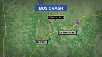 school bus wreck 6map frame 938 State Troopers: Truck Driver Fell Asleep Before Crashing Into School Bus