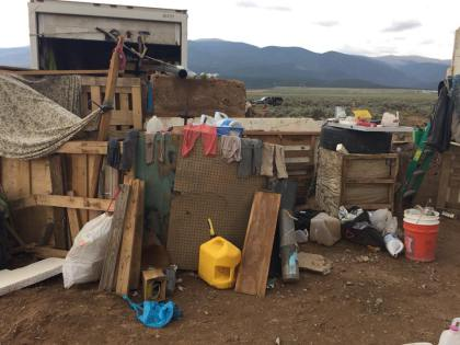 makeshift compound 3 taos county sheriff Childs Body Found Inside Compound Near Colorado Border