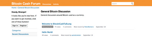 A Censorship-Free Version of Bitcointalk? Developer Launches Bitcoincashtalk.org