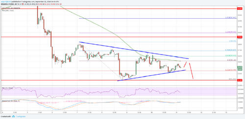 Litecoin Price Analysis: LTC/USD Could Decline Further