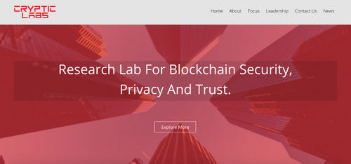 Nobel Laureates Join Blockchain Research Lab and Accelerator Cryptic Labs