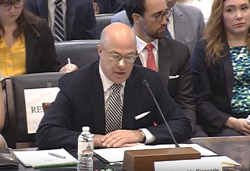 CFTC Chair Giancarlo Says Institutional Investors Will Help Crypto 'Mature'