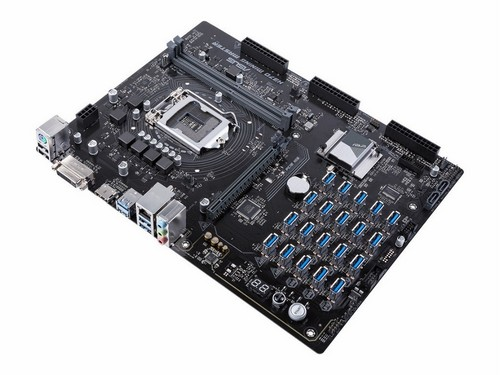 ASUS Intros H370 Mining Master Motherboard – Those Aren't USB Ports