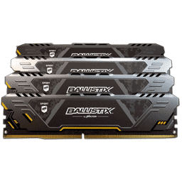Ballistix Sport AT Gaming DDR4-3000 (TUF Edition) Review