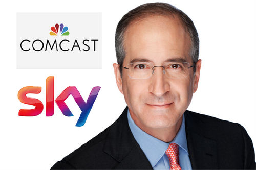 Highest bidder: Comcast chairman and chief executive Brian Roberts