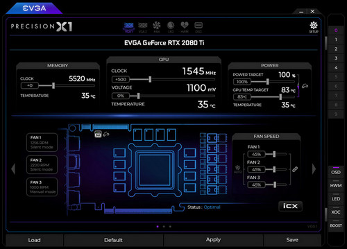 EVGA Announces Launch of Its Precision X1 Software for NVIDIA RTX 20-Series