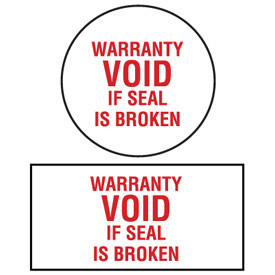 FTC Gives Manufacturers 30 Days to Remove Warranty Void Stickers