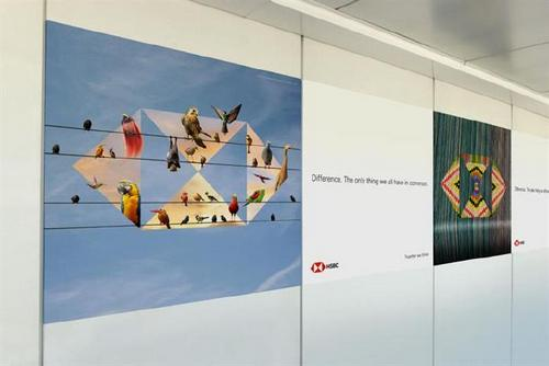 HSBC reinvents airport ads with biggest global campaign to date