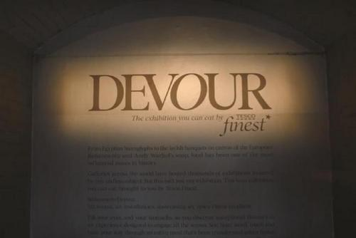 Inside Tesco Finest's edible exhibition 'Devour'