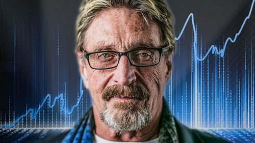 "John Mcafee to Panic Sellers: ""Fcking Relax""… Every Bear Market is "" Followed by a Glorius Spring"""