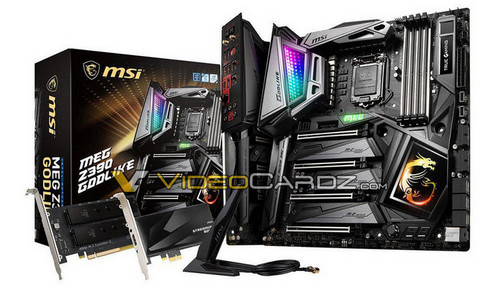 "MSI Z390 Motherboard Lineup Detailed: Includes a ""MEG GODLIKE"""