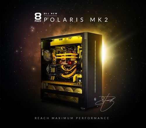 8PACK Announces Polaris MK2 Ultimate Gaming System – £10,000