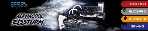 Alphacool Announces Its Eissturm Watercooling Sets