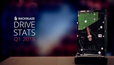 Backblaze Releases Q1 2018 Hard Drive Longevity, Reliability Stats