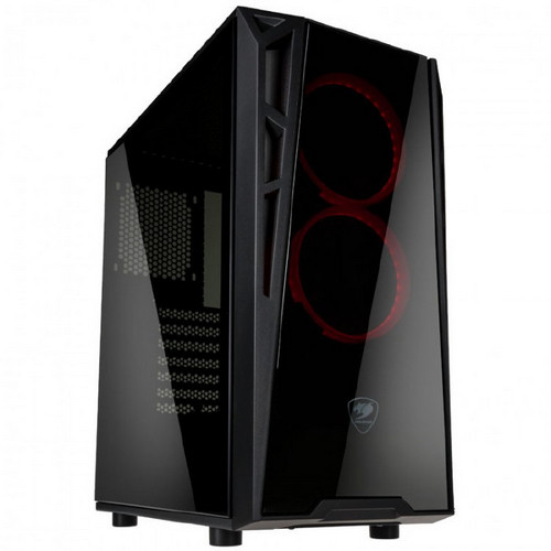 Cougar Introduces the Turret Mid-Tower Case With Vortex RGB Fans