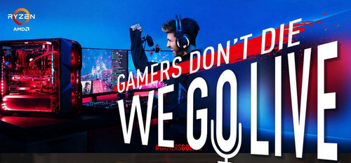MSI Announces #GamersGoLive Initiative with AMD, Cooler Master, HyperX, Seagate