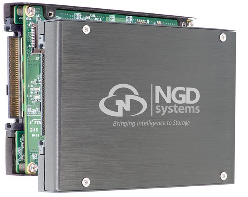 NGD Systems Delivers Industry-First 16TB NVMe Computational U.2 SSD