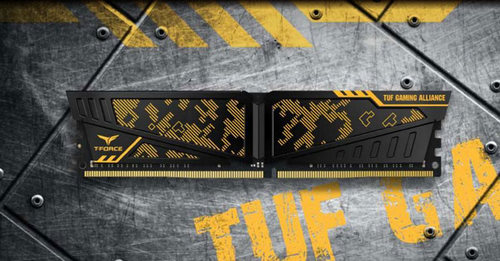 Team Group Vulcan Gaming DDR4 3200 MHz TUF Edition Review