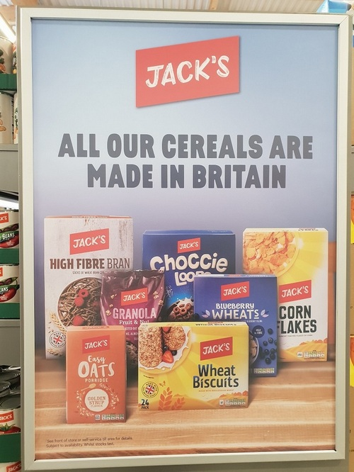 Tesco goes big on Britishness with discounter brand Jack's