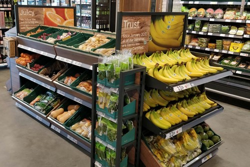 Tesco trials cash-free store at new head-office collaboration zone