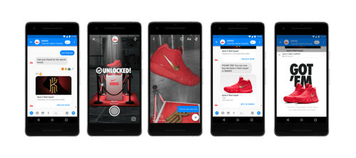 Why Nike's AR experiment for Facebook Messenger was a hit with its customers
