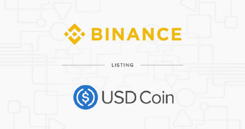 Binance Adds USD Coin (USDC), to its Combined Stablecoin Market (USDⓈ)