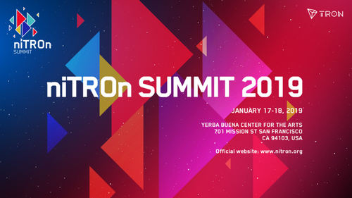 All Eyes, on Tron's (TRX), 2 Day NiTRON Summit, in San Francisco that Starts Today