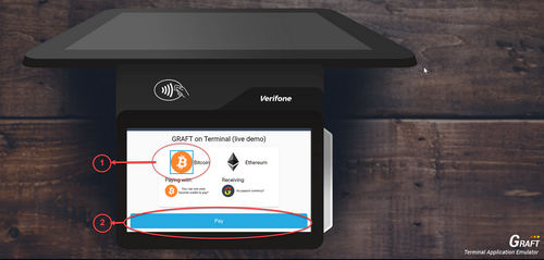 GRAFT NETWORK Announces, the Release of the Pay-In Exchange Broker Component, for Verifone Payment Terminals
