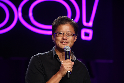 "Yahoo co-founder, Jerry Yang, says blockchain, ""natural technology for banks and trading"""