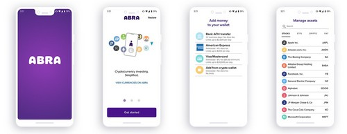 Abra's Blockchain App, to Let Users Invest, in Fractions of Stocks, ETFs